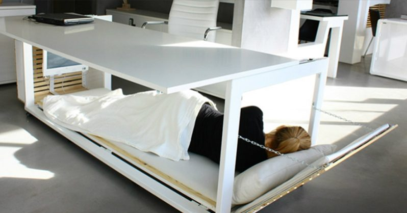 A Nap Desk Is Exactly What You Need To Be Productive At Work